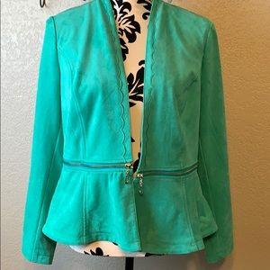 Chico's NWT Peplum jacket size Chico's 1 or US Sm